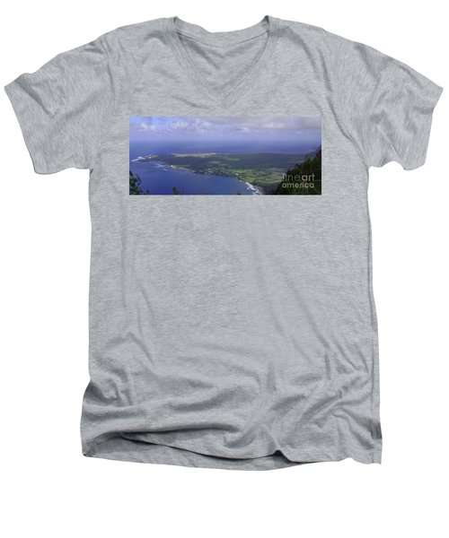 View Of Kaulapapa Men's V-Neck T-Shirt