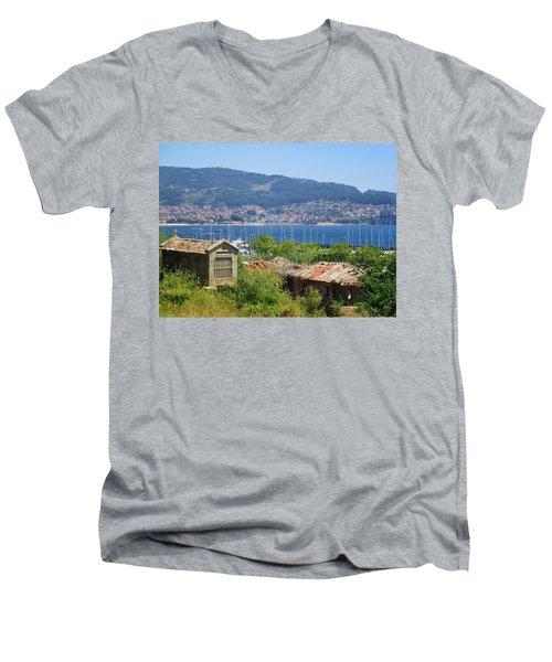 View Of Meira Men's V-Neck T-Shirt
