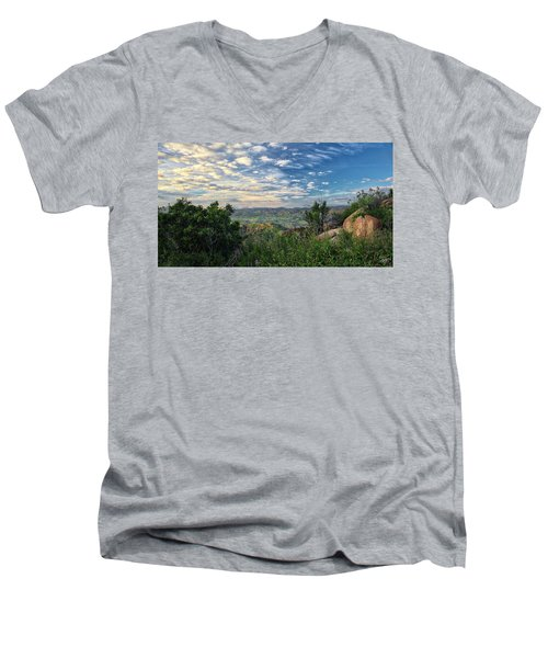View Of Simi Valley Men's V-Neck T-Shirt