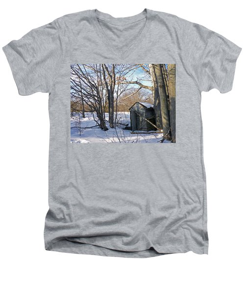 View Of The Past Men's V-Neck T-Shirt