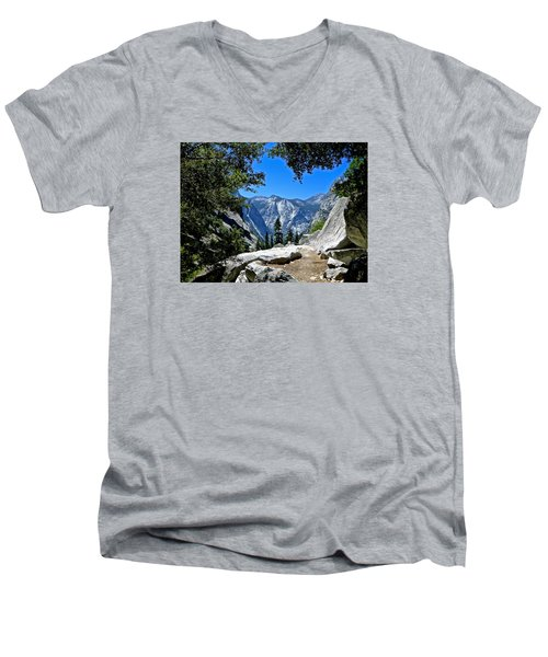 View Of The Sphinx Men's V-Neck T-Shirt