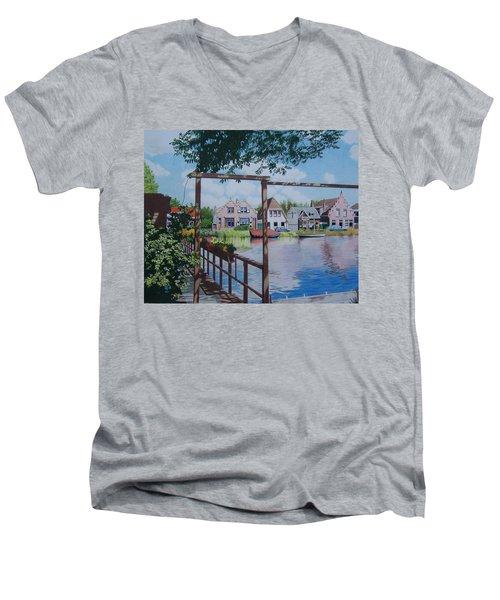 View On Hillegersberg Men's V-Neck T-Shirt