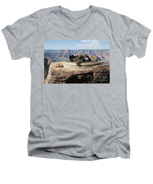 Viewing Infinity Men's V-Neck T-Shirt