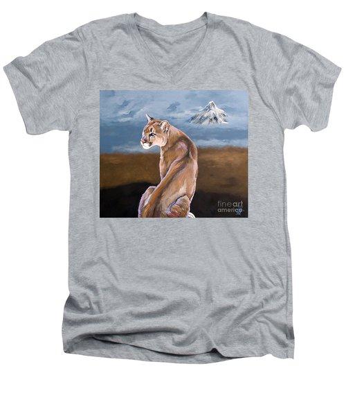 Vigilance Men's V-Neck T-Shirt