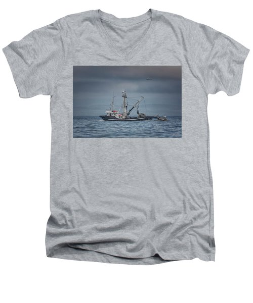 Viking Tide Men's V-Neck T-Shirt