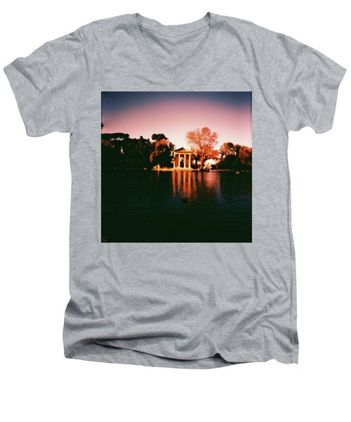 Villa Borghesse Rome Men's V-Neck T-Shirt