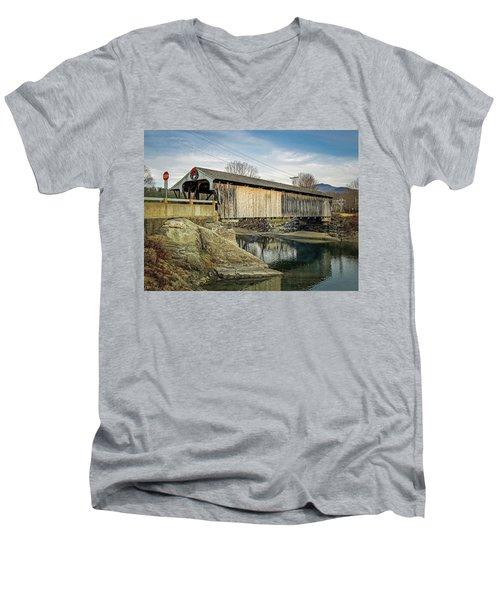Village Bridge Men's V-Neck T-Shirt
