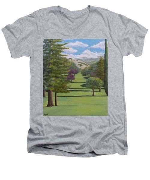Village Eastern Views Men's V-Neck T-Shirt