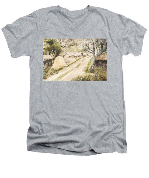 Village Freshness Men's V-Neck T-Shirt