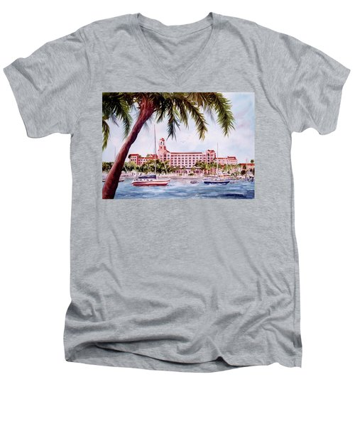 Vinoy View Men's V-Neck T-Shirt