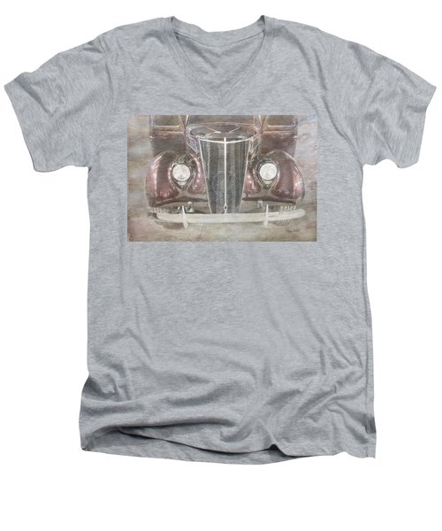 Vintage Classic Men's V-Neck T-Shirt