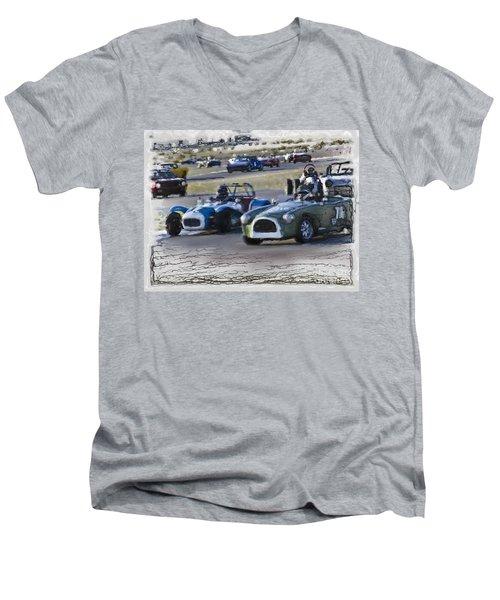 Vintage Competition Men's V-Neck T-Shirt