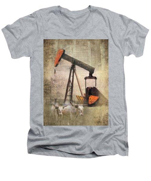 Vintage Enterprise Men's V-Neck T-Shirt