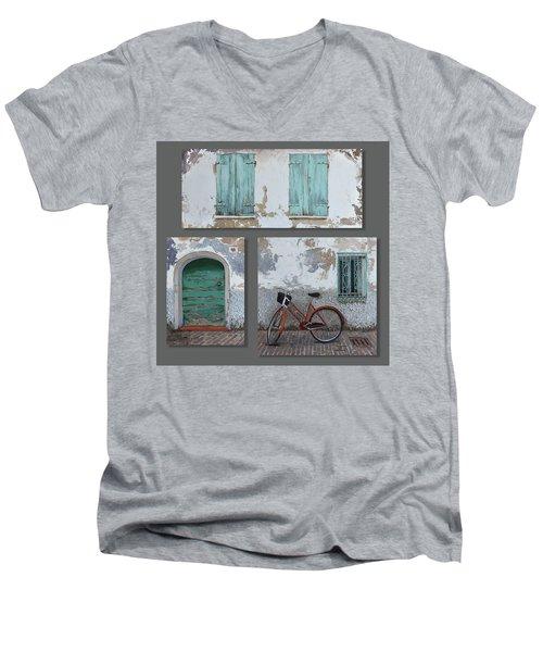 Vintage Series All 3 In 1 Men's V-Neck T-Shirt