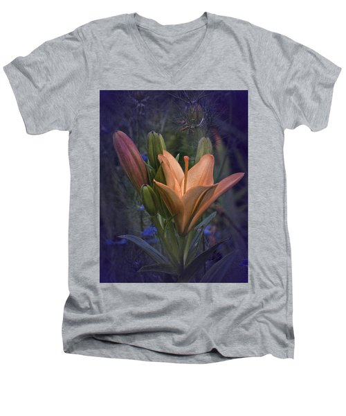 Vintage Lily 2017 No. 2 Men's V-Neck T-Shirt