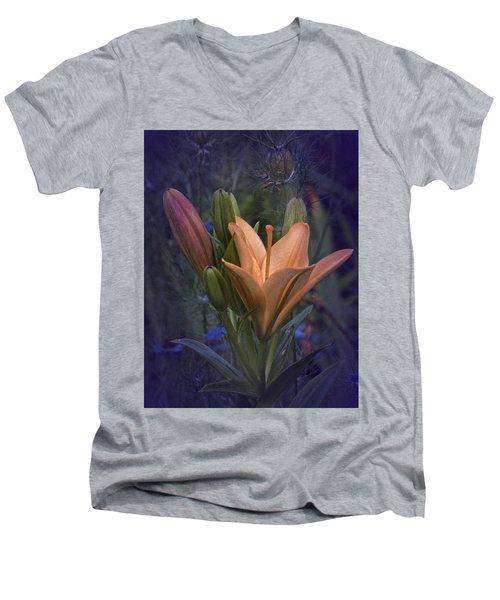 Vintage Lily 2017 No. 2 Men's V-Neck T-Shirt
