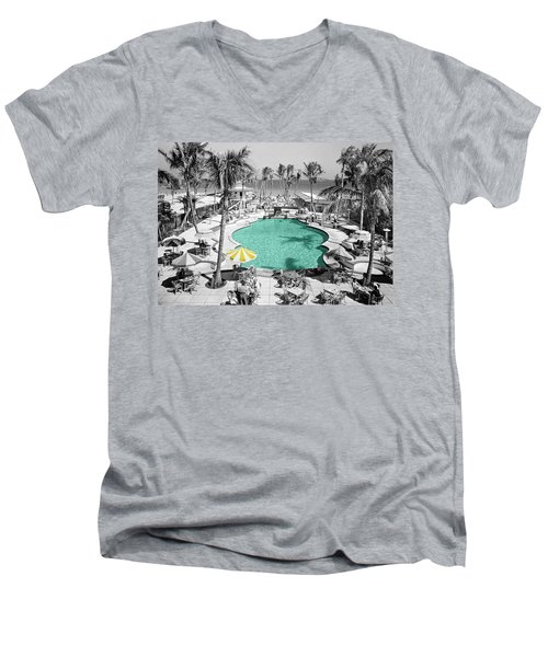 Vintage Miami Men's V-Neck T-Shirt