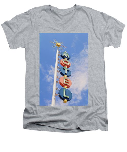 Vintage Motel Men's V-Neck T-Shirt