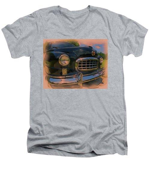 Vintage Nash Men's V-Neck T-Shirt