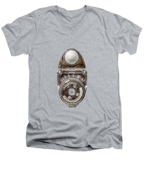 Vintage Sekonic Deluxe Light Meter Men's V-Neck T-Shirt
