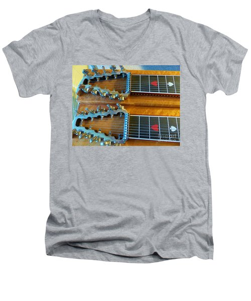 Vintage Sho-bud Pedal Steel Men's V-Neck T-Shirt