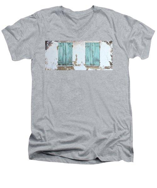 Vintage Series #1 Windows Men's V-Neck T-Shirt