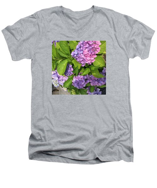 Violet Persuasion Men's V-Neck T-Shirt