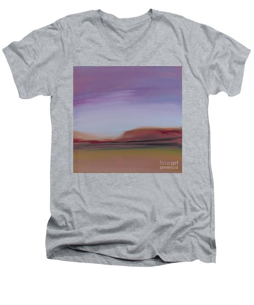 Violet Skies Men's V-Neck T-Shirt