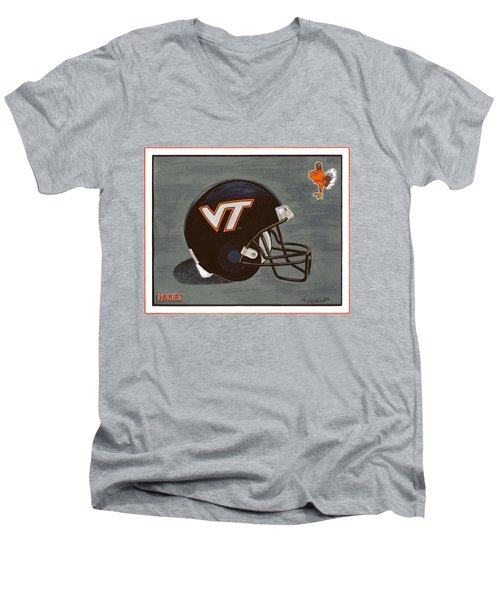 Virginia Tech T-shirt Men's V-Neck T-Shirt