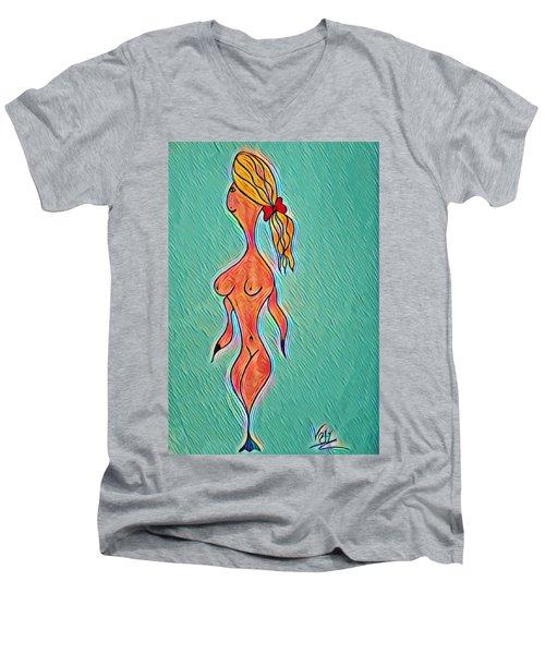 Virgy Men's V-Neck T-Shirt