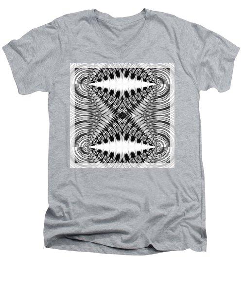 Virtual Illusion-mindset Men's V-Neck T-Shirt