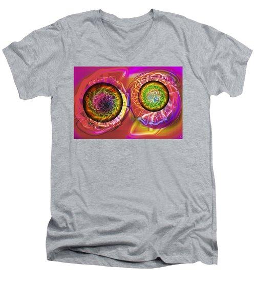 Vision 42 Men's V-Neck T-Shirt