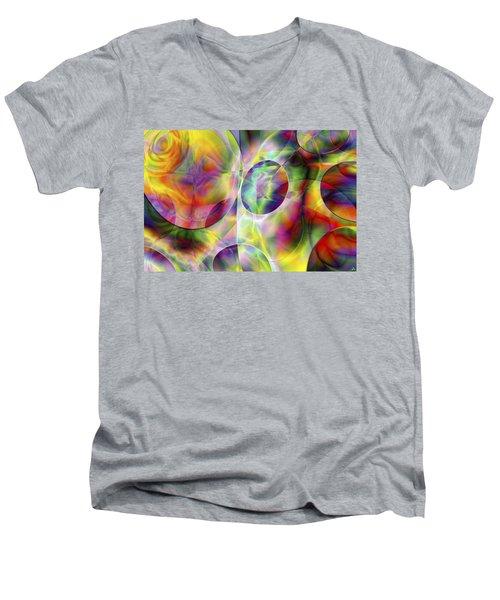Vision 36 Men's V-Neck T-Shirt