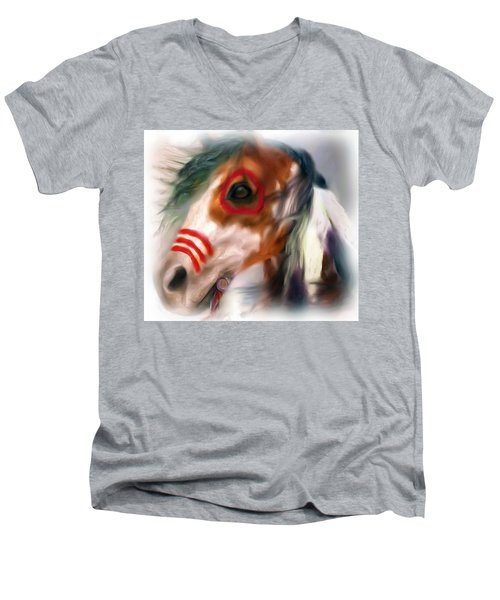 Visionary War Horse Men's V-Neck T-Shirt