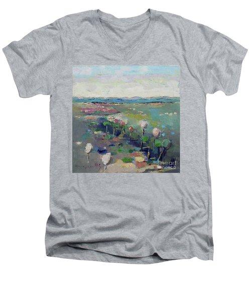 Visiting Town 1603 Men's V-Neck T-Shirt