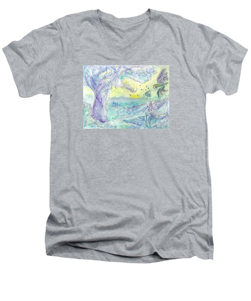 Visitors Men's V-Neck T-Shirt