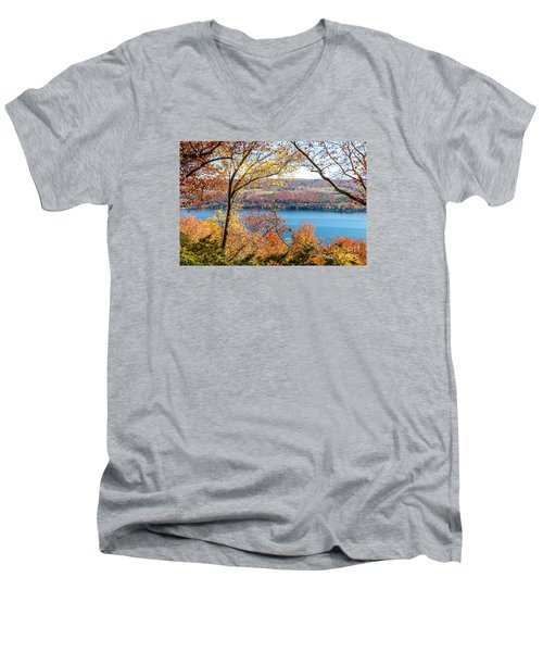 Vista From Garrett Chapel Men's V-Neck T-Shirt