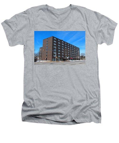 Vistula Manor Men's V-Neck T-Shirt