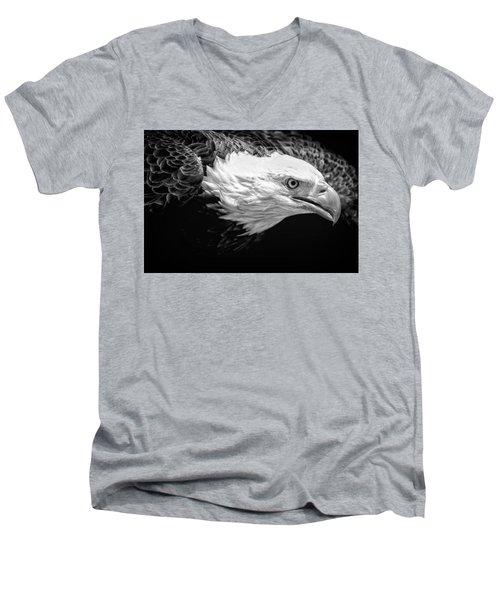 Visual Men's V-Neck T-Shirt
