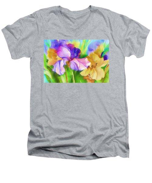 Voices Of Spring Men's V-Neck T-Shirt