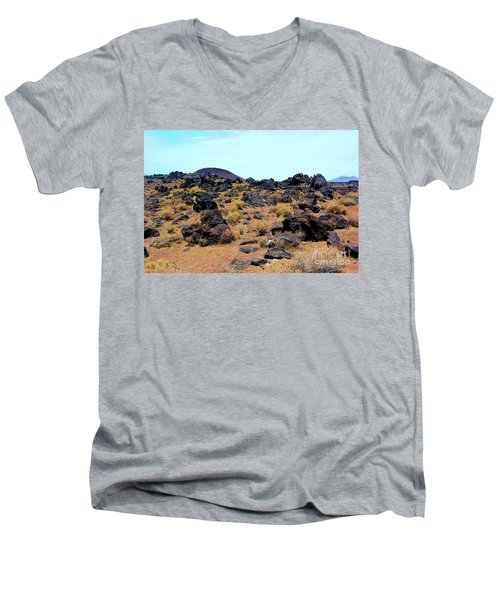 Volcanic Field Men's V-Neck T-Shirt