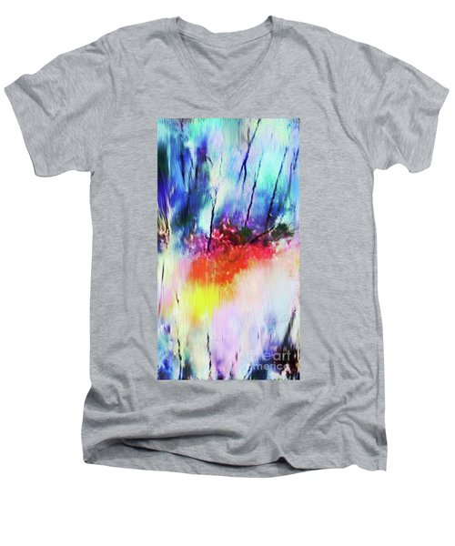 Volcanic Fissures Men's V-Neck T-Shirt