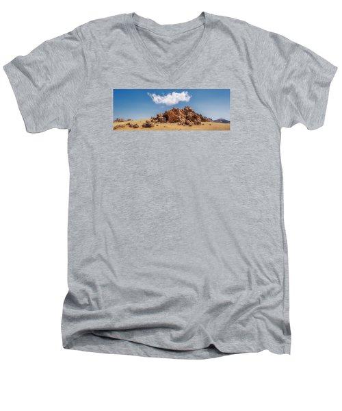 Volcanic Rocks Men's V-Neck T-Shirt