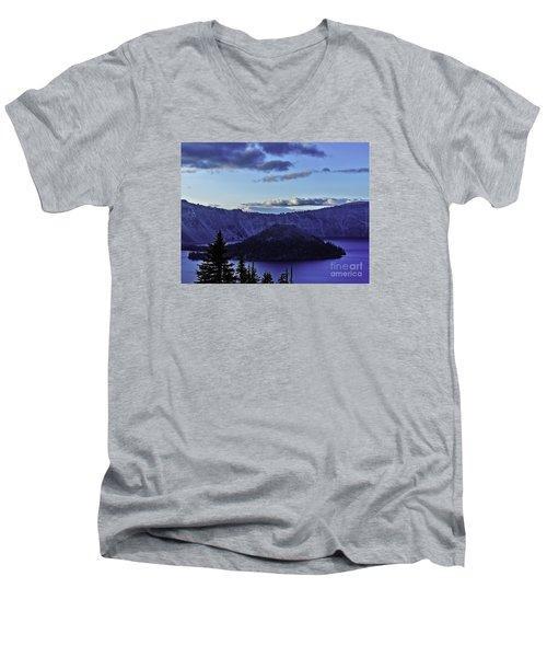 Volcano Within Men's V-Neck T-Shirt