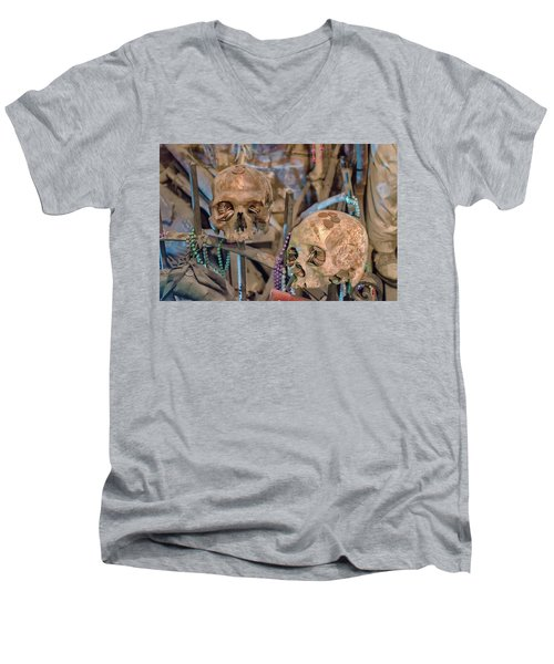 Voodoo Altar Men's V-Neck T-Shirt