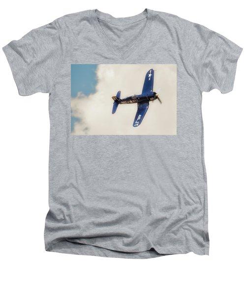 Vought F4u Corsair Men's V-Neck T-Shirt