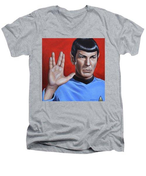 Vulcan Farewell Men's V-Neck T-Shirt