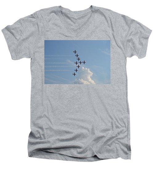 Vulcan Formation Men's V-Neck T-Shirt