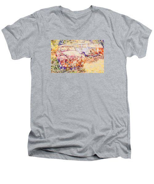 Vw Rest Home Men's V-Neck T-Shirt