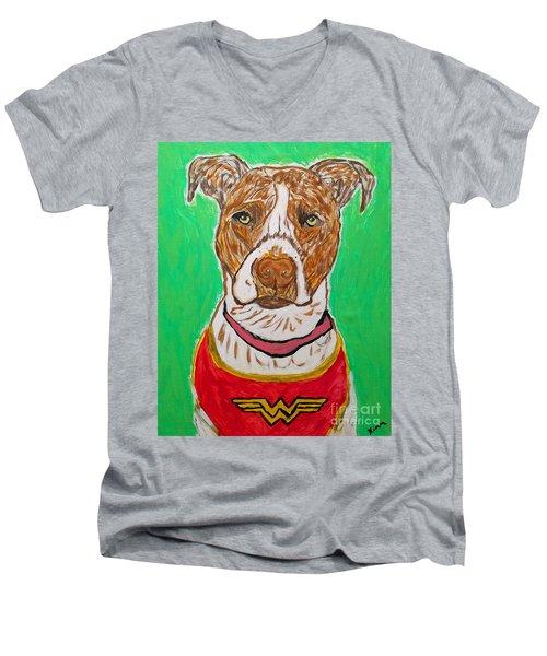 W Boy Men's V-Neck T-Shirt